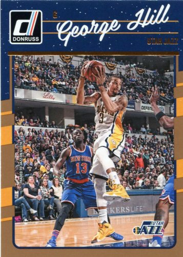 2016 Donruss Basketball Card #51 George Hill