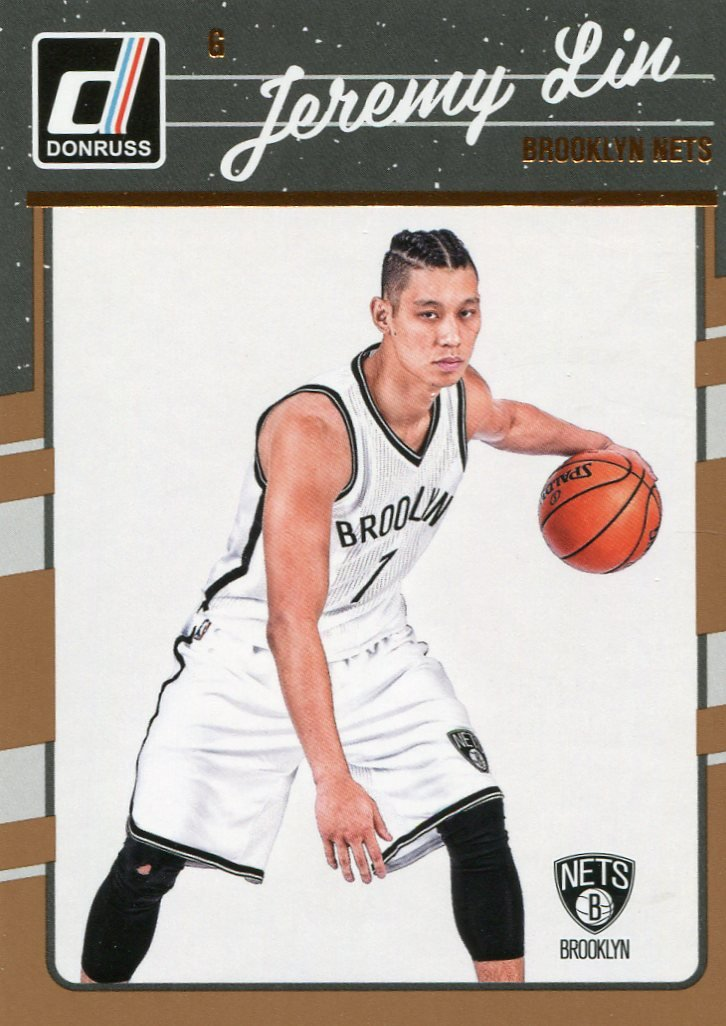 2016 Donruss Basketball Card #83 Jeremy Lin