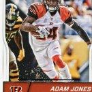 2016 Score Football Card #74 Adam Jones