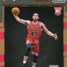 2016 Donruss Basketball Card #163 Denzel Valentine