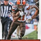 2016 Score Football Card #79 Travis Benjamin