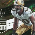 2016 Absolute Football Card Unsung Heroes #4 Delvin Breaux