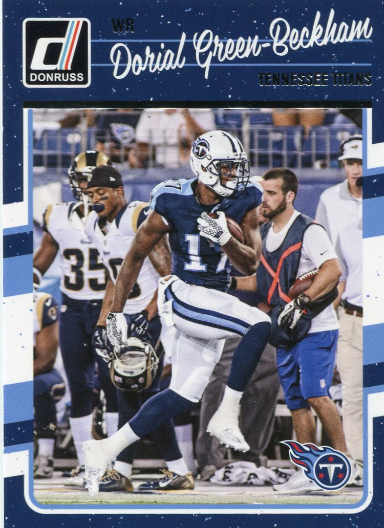2016 Donruss Football Card #287 Dorial Green-Beckham