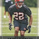2016 Playoff Football Card #224 William Jackson III