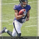 2016 Playoff Football Card #262 Chris Moore
