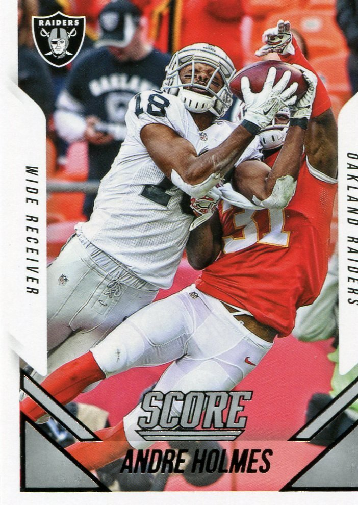2015 Score Football Card #123 Andre Holmes