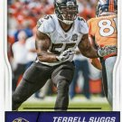 2016 Score Football Card #30 Terrell Suggs