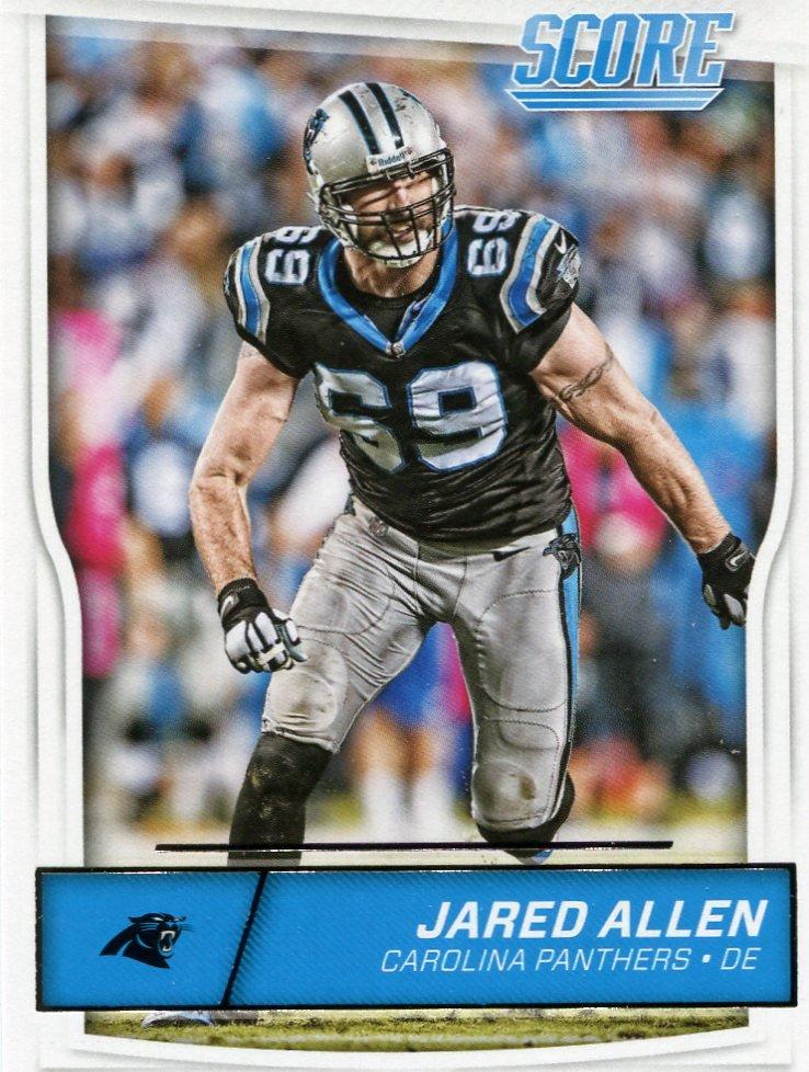 2016 Score Football Card #52 Jared Allen