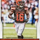 2016 Score Football Card #84 Andrew Hawkins