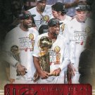 2013 Hoops Basketball Card #301 Miami Heat Championship