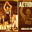 2013 Hoops Basketball Card Action Shots #4 Manu Ginobli