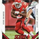 2015 Score Football Card #221 Knile Davis