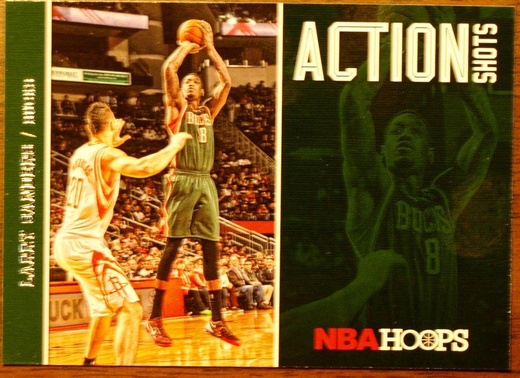 2013 Hoops Basketball Card Action Shots #24 Larry Sanders
