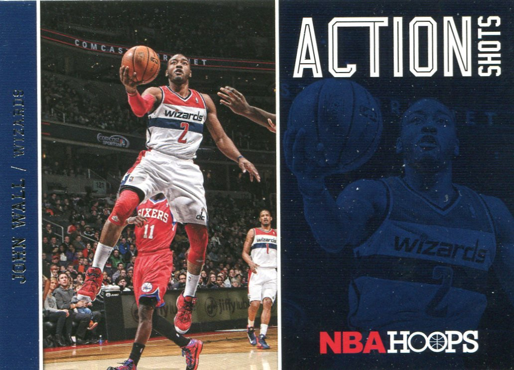 2013 Hoops Basketball Card Action Shots #23 John Wall