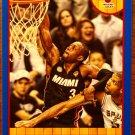 2013 Hoops Basketball Card Blue Parallel #52 Dwayne Wade