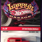 2009 Hot Wheels Larry's Garage #8 32 Ford Sedan Delivery CHASE