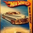 2009 Hot Wheels #15 Custom 53 Cadillac BLUE