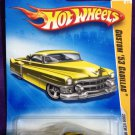 2009 Hot Wheels #15 Custom 53 Cadillac GOLD