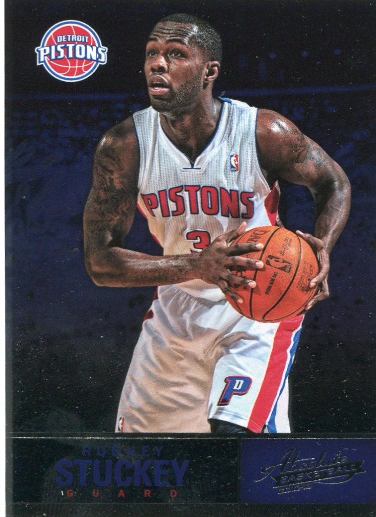 2012 Absolute Basketball Card #10 Rodney Stuckey