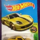 2016 Hot Wheels #74 Porsche Carrera GT YELLOW