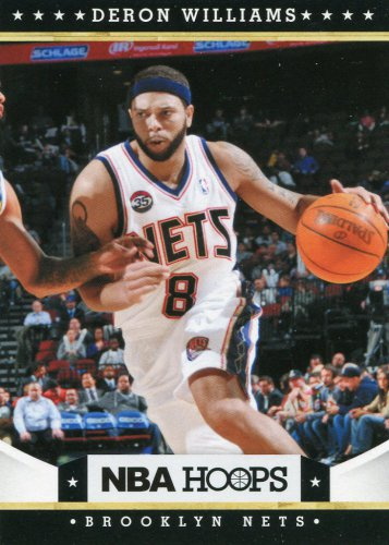 2012 Hoops Basketball Card #8 Deron Williams