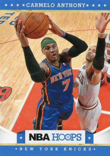 2012 Hoops Basketball Card #16 Carmelo Anthony