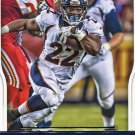 2016 Score Football Card #97 C J Anderson