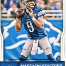 2016 Score Football Card #107 Matthew Stafford