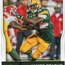 2016 Score Football Card #119 James Starks