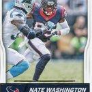 2016 Score Football Card #132 Nate Washington