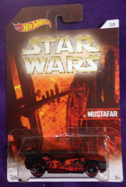 2016 Hot Wheels Star Wars Planets #2 Mustafar