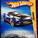 2010 Hot Wheels #5 Scorcher BLUE
