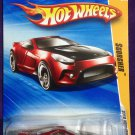 2010 Hot Wheels #5 Scorcher RED