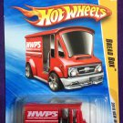 2010 Hot Wheels #13 Bread Box RED