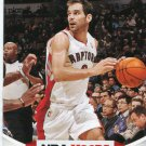 2012 Hoops Basketball Card #33 Jose Calderon