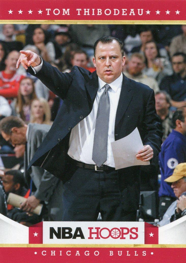 2012 Hoops Basketball Card #81 Tom Thibodeau