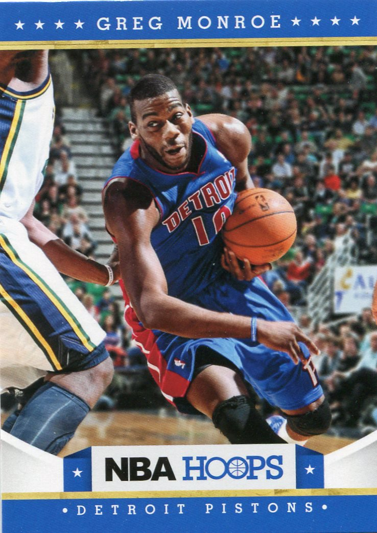 2012 Hoops Basketball Card #88 Greg Monroe