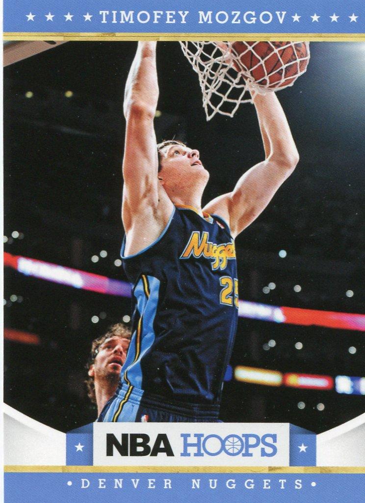 2012 Hoops Basketball Card #114 Timofey Mozgov