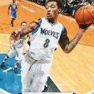 2012 Hoops Basketball Card #118 Michael Beasley