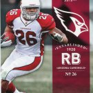 2012 Prestige Football Card #2 Beanie Wells
