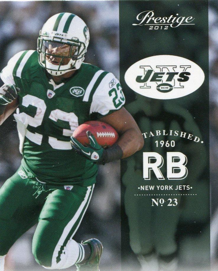 2012 Prestige Football Card #132 Shonn Greene