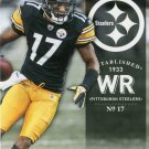 2012 Prestige Football Card #154 Mike Wallace