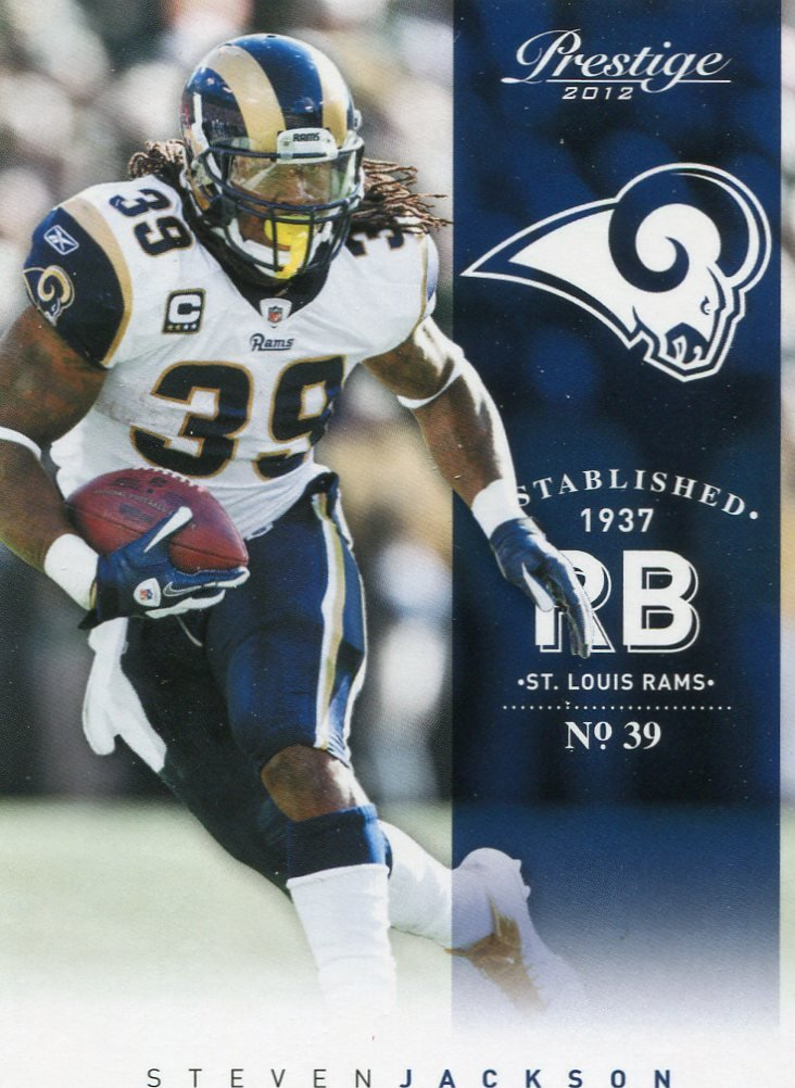 2012 Prestige Football Card #180 Steven Jackson