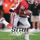 2008 Upper Deck Football Card #205 Allen Patrick