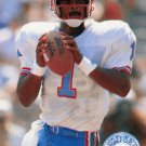 1991 Pro Set Platinum Football Card #40 Warren Moon