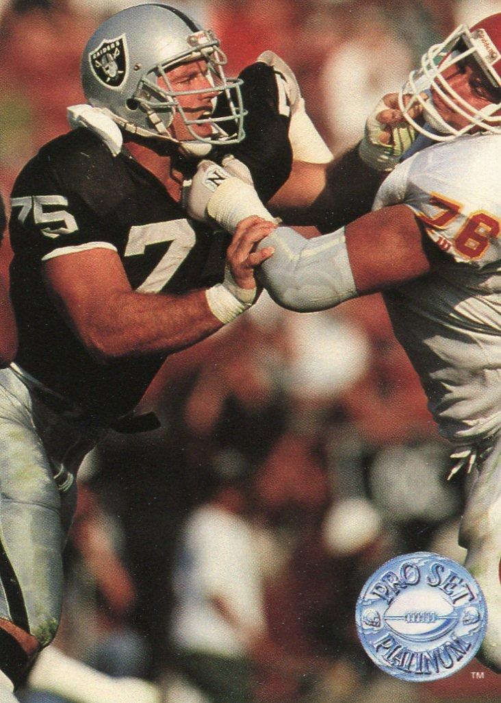 1991 Pro Set Platinum Football Card #54 Howie Long