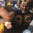 1991 Pro Set Platinum Football Card #60 Mike Piel