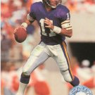 1991 Pro Set Platinum Football Card #68 Wade Wilson