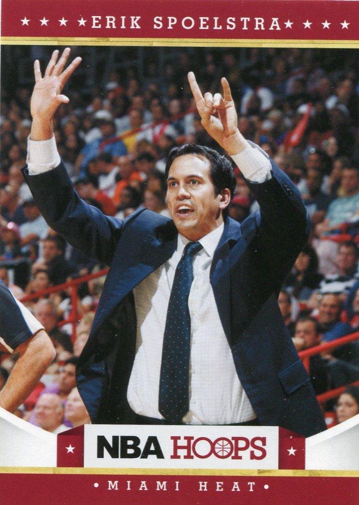 2012 Hoops Basketball Card #163 Eric Spoelstra