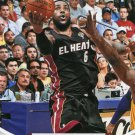 2012 Hoops Basketball Card #156 LeBron James